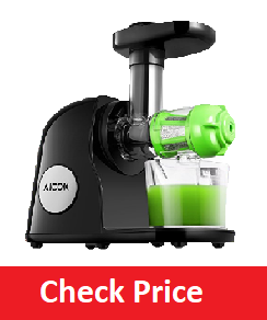 Aicok Juicer Slow Masticating Juicer Extractor, Cold Press Juicer Machine, Quiet Motor and Reverse Function