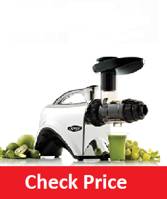 Omega NC900HDC 6th Generation Nutrition Center Electric Juicer, Chrome